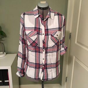 Thread & Supply Plaid shirt (M)
